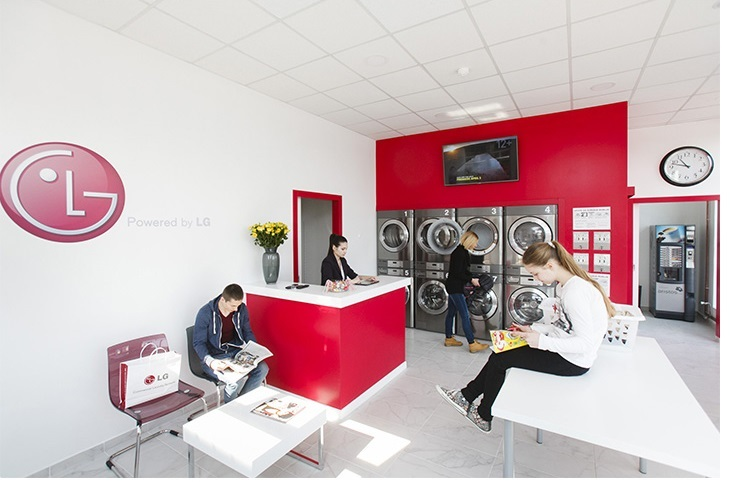 Coin operated tumble dryers from LG