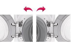 LG Giant C Commercial Tumble Dryer Reversible Doors
