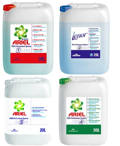 P&G Ariel auto dosing products