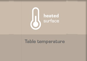 Heated surface