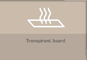 Transpirant board