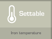 Iron Temperature Easy to Control